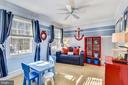 Upper Level Front Bedroom/ School Room - 11588 LAKE NEWPORT RD, RESTON
