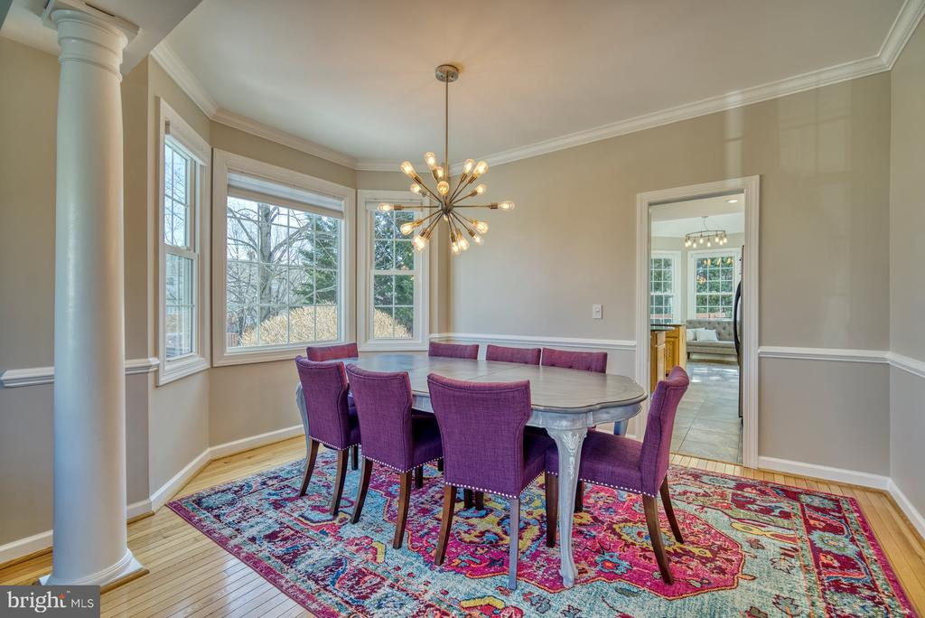 Lovely Dining Room - 21033 FOWLERS MILL CIR, ASHBURN