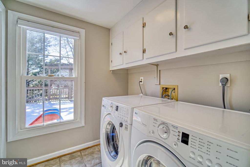 Laundry Room Located on the Main Level - 21033 FOWLERS MILL CIR, ASHBURN