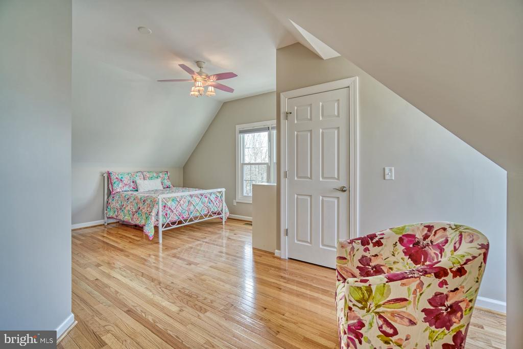 Second Bedroom has Lots of Character - 21033 FOWLERS MILL CIR, ASHBURN