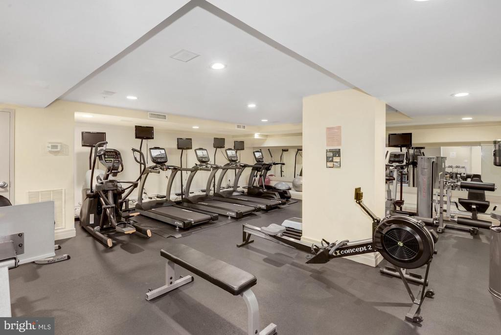 Recently updated fitness room - 915 E ST NW #403, WASHINGTON