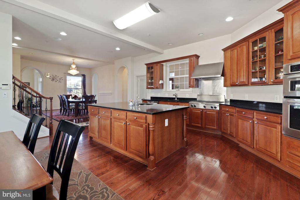 Main Kitchen/Breakfast Area - 2509 BRIGGS CHANEY RD, SILVER SPRING