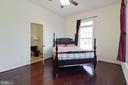 Upper LVL Bedroom - 2509 BRIGGS CHANEY RD, SILVER SPRING