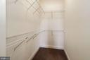 Walk-In Closet - 2509 BRIGGS CHANEY RD, SILVER SPRING