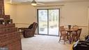 Sliding glass door leads to patio/backyard - 5609 OTTAWA RD, CENTREVILLE