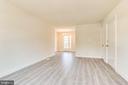 Living room - 2943 S DINWIDDIE ST #A1, ARLINGTON