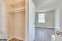 Primary closet - 2943 S DINWIDDIE ST #A1, ARLINGTON