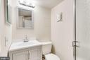 Lower level full bath - 2943 S DINWIDDIE ST #A1, ARLINGTON