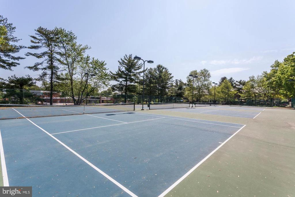 Community tennis courts - 2943 S DINWIDDIE ST #A1, ARLINGTON