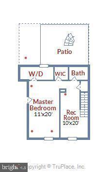 Second floor - 2943 S DINWIDDIE ST #A1, ARLINGTON