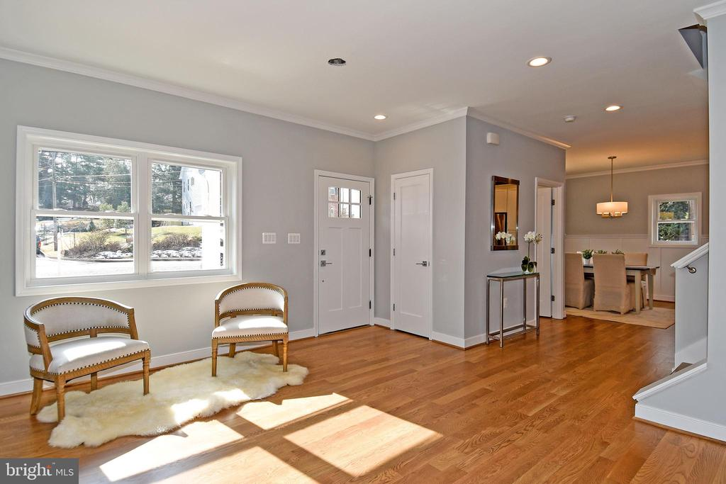 Open concept view to formal dining room - 7234 ARTHUR, FALLS CHURCH