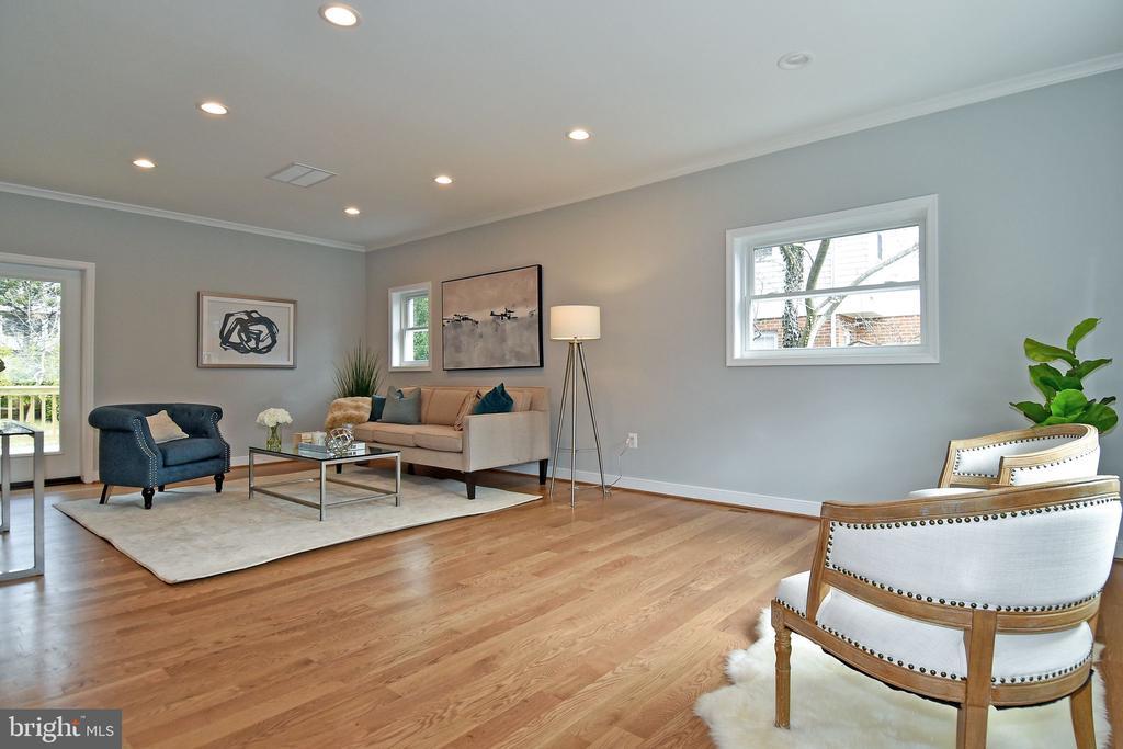 Open Concept Living Room - 7234 ARTHUR, FALLS CHURCH