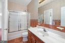 Upper Level Hall Bathroom - 3714 FAIRWAYS CT, FREDERICKSBURG