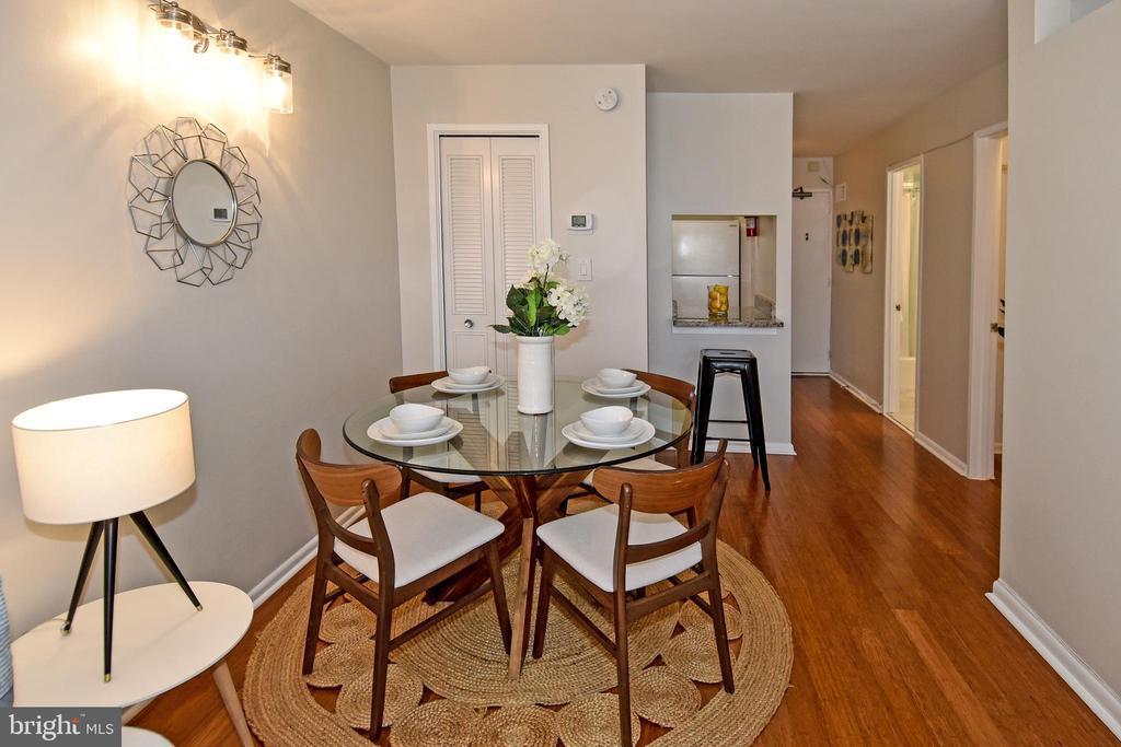 Bamboo floors throughout - 2939 VAN NESS ST NW #1129, WASHINGTON
