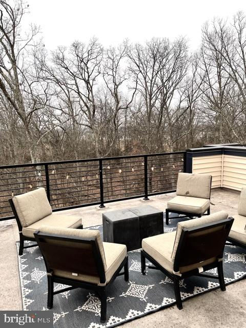 Rooftop  Terrace w/Views of Woods and Tails - 42502 MILDRED LANDING SQ, ASHBURN