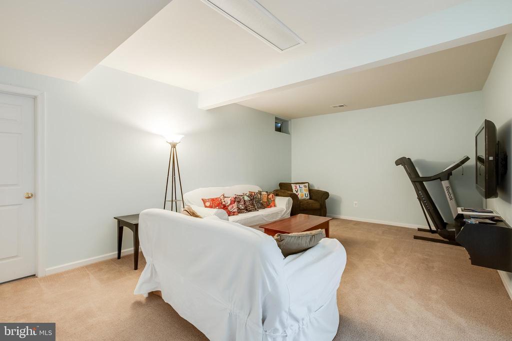 Basement Living room/TV area - 903 CRESTVIEW TER, WINCHESTER