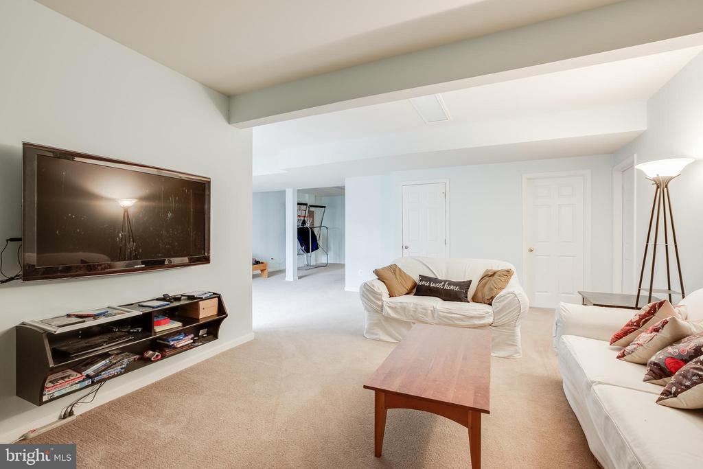 Basement Living room/TV a - 903 CRESTVIEW TER, WINCHESTER