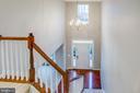 Two-story foyer. - 1002 JONS PL, FREDERICKSBURG