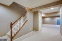 Fully finished basement - 1002 JONS PL, FREDERICKSBURG