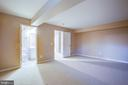 Fifth bedroom (NTC) with full bath - 1002 JONS PL, FREDERICKSBURG