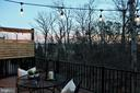 Deck at Twilight - 42502 MILDRED LANDING SQ, ASHBURN