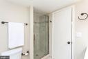 Renovated Master Suite Bathroom's Standup Shower - 2100 LEE HWY #G09, ARLINGTON