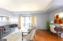 Hardwood floors throughout the main living area. - 2100 LEE HWY #G09, ARLINGTON