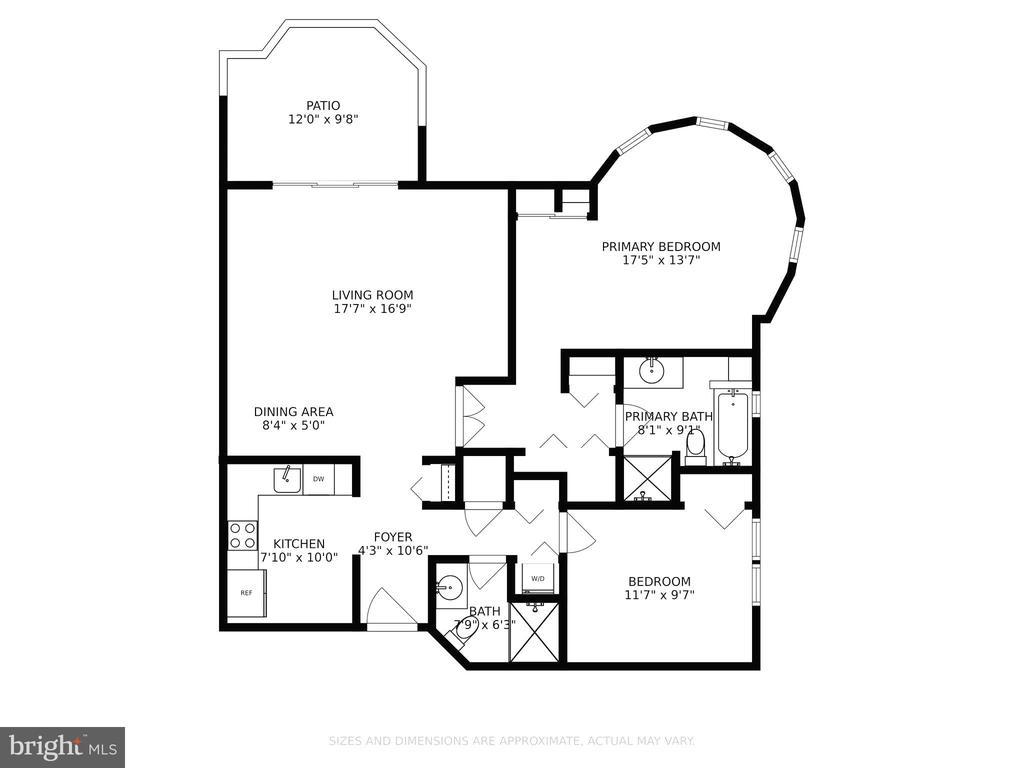 Floor Plan - Model H - 2100 LEE HWY #G09, ARLINGTON