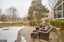 Relax on your rear patio - 20277 DAWSON MILL PL, LEESBURG