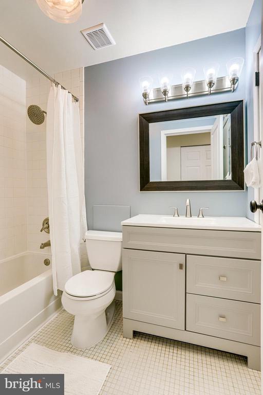 Full Hall Bathroom - 221 W ASH RD, STERLING