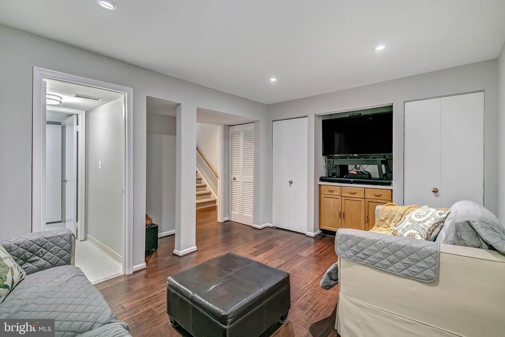 3rd bedroom on lower level - 2913-B S WOODSTOCK ST #2, ARLINGTON