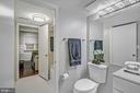 Full bath on lower level - 2913-B S WOODSTOCK ST #2, ARLINGTON