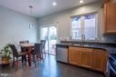 Coffee area with walkout to Deck - Main Level - 22462 FAITH TER, ASHBURN