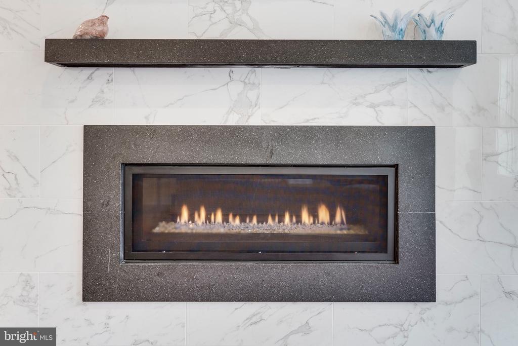 Linear Gas Fireplace - 171 WINSOME CIR, BETHESDA