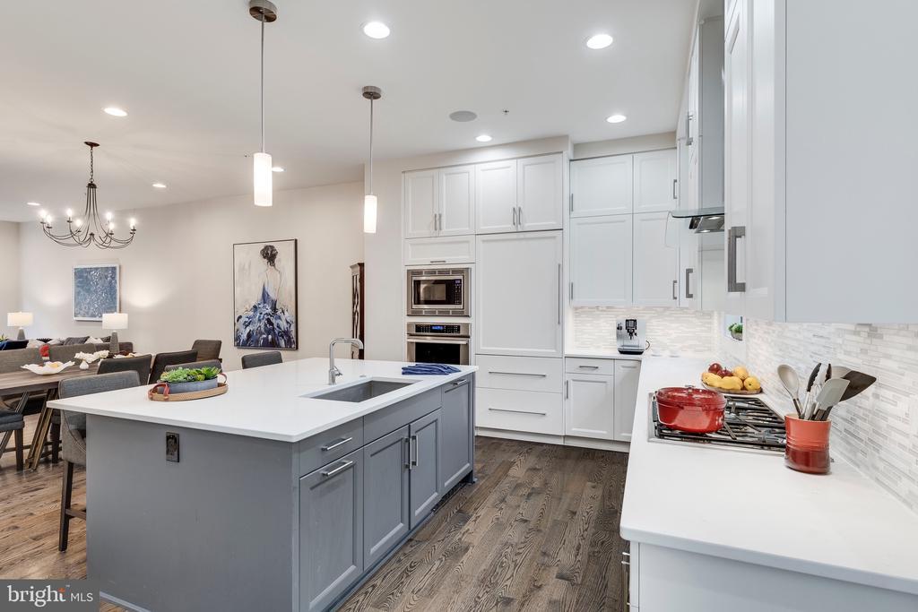 Kitchen - 171 WINSOME CIR, BETHESDA