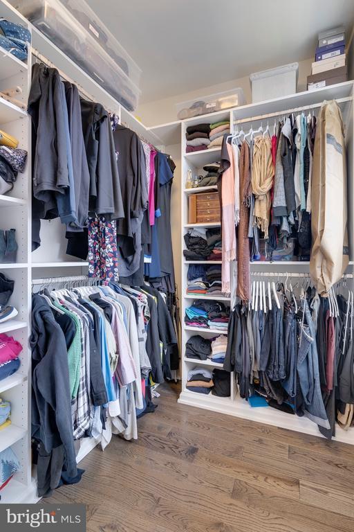 Primary Bedroom Walk-In Closet 2 - 171 WINSOME CIR, BETHESDA