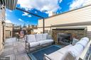 Roof Top Patio Gas Fireplace  &  Automatic Awning - 171 WINSOME CIR, BETHESDA
