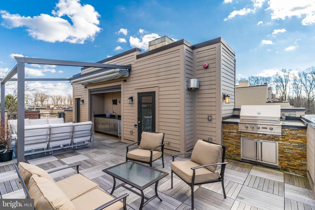 Built In Viking Outdoor Gas Grill Station - 171 WINSOME CIR, BETHESDA