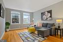 Living Room with freshly painted walls - 2971 S COLUMBUS ST #A1, ARLINGTON