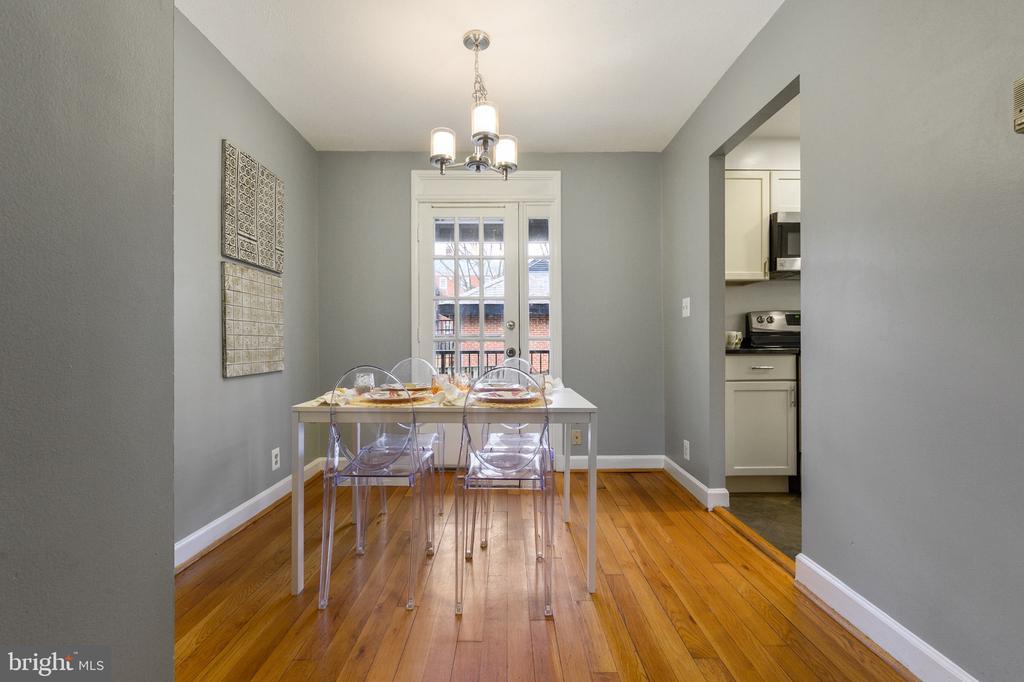 Dining Room - 2971 S COLUMBUS ST #A1, ARLINGTON