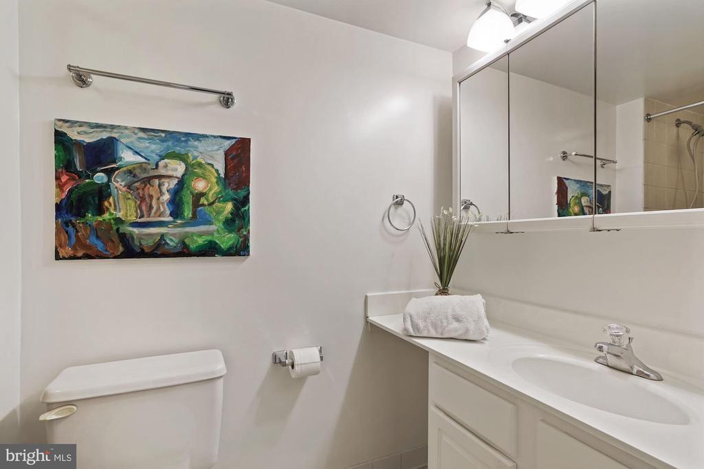 2nd bath on lower level - 2810 S MEADE ST, ARLINGTON