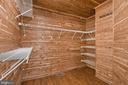 Huge cedar closet - 20757 PARKSIDE CIR, STERLING