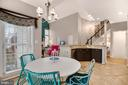 Eat-in kitchen with table space - 20757 PARKSIDE CIR, STERLING
