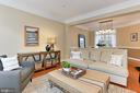 Front Living Room Connects To Formal Dining Room - 425 PARK AVE, FALLS CHURCH