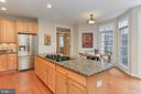 Kitchen Includes Stainless Steel Appliances - 425 PARK AVE, FALLS CHURCH