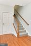 Back Staircase Leads To Inlaw/AuPair Suite - 425 PARK AVE, FALLS CHURCH