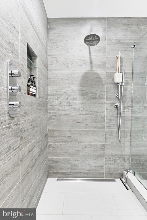 Grand Walk-In Shower - 425 PARK AVE, FALLS CHURCH