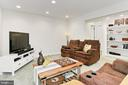 Convenient Built In Shelves Great For Displaying - 425 PARK AVE, FALLS CHURCH