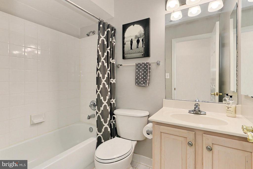 Lower Level Full Bathroom - 425 PARK AVE, FALLS CHURCH