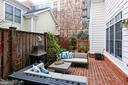 Private Courtyard Perfect  For Summer Cocktails - 425 PARK AVE, FALLS CHURCH